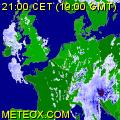 Radar de la pluie européenne